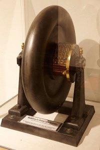 Elektromotor von Johann Kravogl aus Lana, 1867