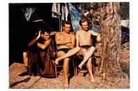 1961 war Helmut erstmals auf dem Campingplatz Nanzel - damals mit seinen zwei Kumpels Klaus und Harald.