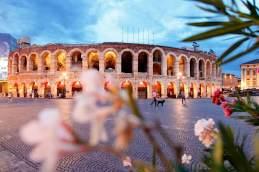 Die Arena von Verona wurde um das Jahr 30 nach Christus erbaut.