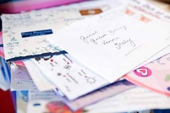 Jährlich gehen etwa 7000 Briefe und Mails an den Club di Giulietta nach Verona und werden beantwortet.