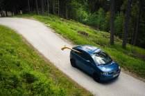 Die wenigsten Kleinwagen sind für den Alphorntransport geeignet.
