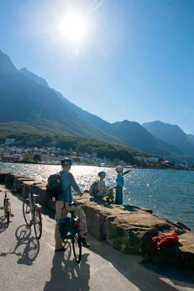 Mittelmeergefühle am Ende einer Dienstfahrt zum Genfer See.