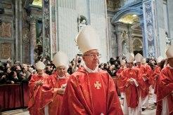 115 Kardinäle gehen zur Papstwahl in das Konklave.