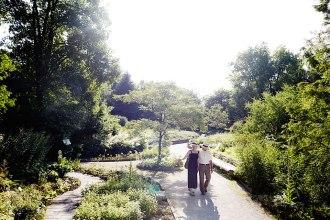 Sinneswandel: Der Duft- und Aromagarten von Bad Wörishofen verwöhnt Nase und Augen gleichermaßen.