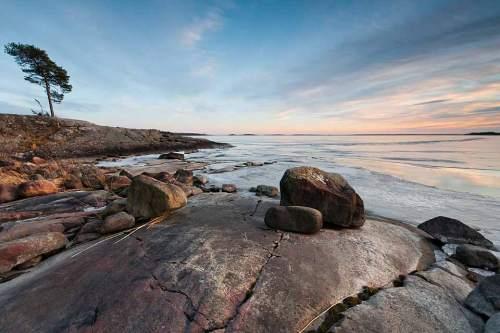 Seenlandschaft: Schweden ist Wasserreich. Hier der Vänern, der drittgrößte natürliche See Europas.