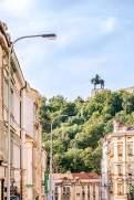 Standhaft: Hinter der Reiterstatue Jan Žižkas auf dem Veitsberg befindet sich eine nationale Gedenkstätte.