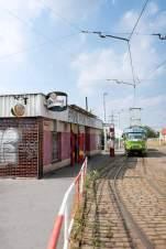 Haltestelle: Die Bar První Pivní Tramway.