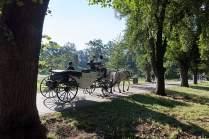 """Reise mit dem """"Fiakrista"""": Von den Ställen auf der Kaiserinsel inmitten der Moldau geht es ins frühere jüdische Viertel."""