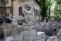 Der Alte Jüdische Friedhof in der Josefstadt ist eine der bekanntesten jüdischen Begräbnisstätten Europas.