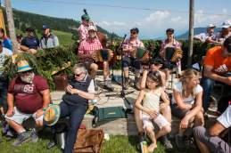 Tonangebend: Für die musikalische Untermalung sorgt das Schwyzerörgeliquartett Rigigruess