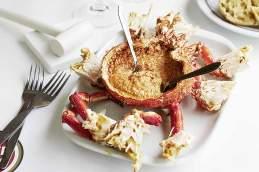 Spidermousse: Die gefüllte Seespinne ist der ideale Auftakt für ein leckeres Seafood-Menü
