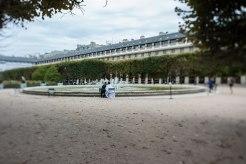 Kleinod: Der Garten am Palais Royal liegt zentral und doch versteckt im Häusermeer.