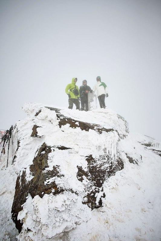 Gipfeltreffen auf dem Mulhacén