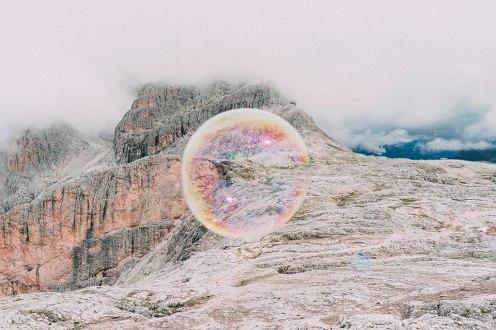 Pale die San Martino, auf dem Weg von der Rosettahütte (2581 Meter) zum Pass Pradidali - der Route eines musikalischen Trekkings mit Publikum